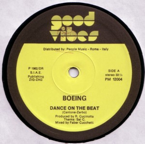 Boeing dance on the beat